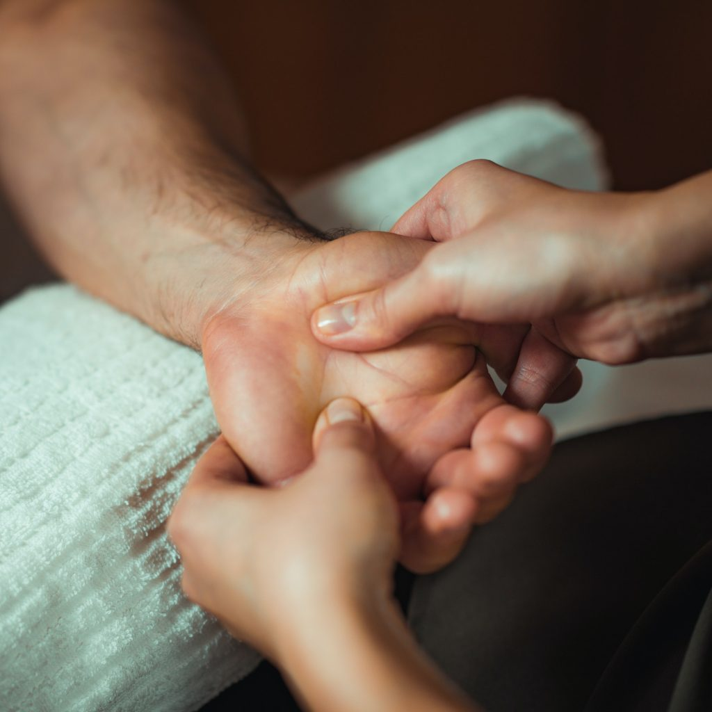 Hand Sports Massage Therapy